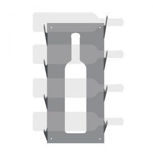 Botellero 20cm logo de botella